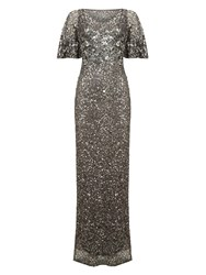 Phase Eight Petite Capella Full Length Dress Pewter