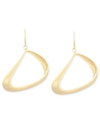 Sis By Simone I Smith 18K Gold Over Sterling Silver Earrings Petite Freeform Drop Earrings