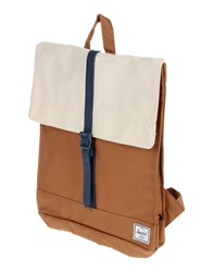 The Herschel Supply Co. Brand Bags Rucksacks And Bumbags Men Camel