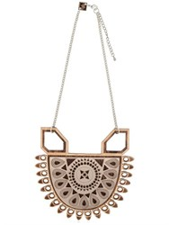 Anisha Parmar London Maharani Wooden Necklace