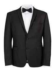 Lambretta Slim Black Twill Two Piece Tuxedo