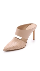 Vince Corrine Pointy Toe Mules Nude