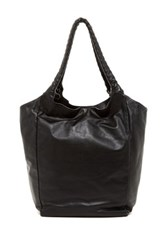 Kenneth Cole Emery Place Leather Tote Black