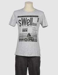 Soul Strear Short Sleeve T Shirts Grey
