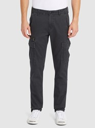 Denim And Supply Ralph Lauren Black Cargo Slim Fit Trousers