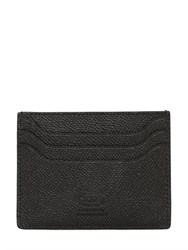 Tod's Stitched Grained Leather Card Holder