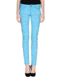 Maggie Casual Pants Turquoise