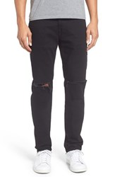 True Religion Men's Brand Jeans Rocco Ripped Slim Fit Jeans