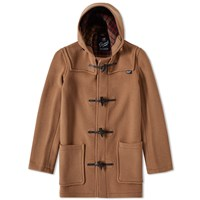 Gloverall Mid Length Duffle Coat Neutrals