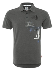 Gaastra Topsail Polo Shirt Light Anthra Anthracite