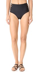 Mikoh Gold Coast High Waisted Bikini Bottoms Night