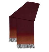 Hobbs Lucille Ombre Scarf Red
