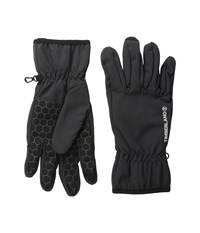 Timberland Windproof Soft Shell Gloves Black Extreme Cold Weather Gloves