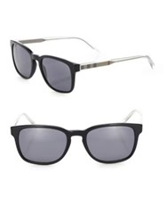 Burberry 55Mm Square Sunglasses Black