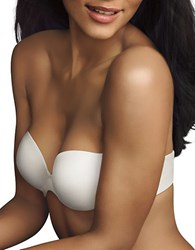 Maidenform Love The Lift Demi Strapless Multiway White