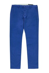 French Connection Machine Gun Stretch Chinos Royal Blue