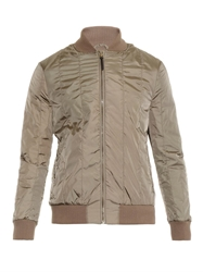 Tomas Maier Quilted Bomber Jacket