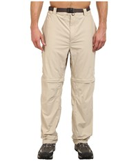 Columbia Silver Ridge Convertible Pant Extended Fossil Men's Workout Beige