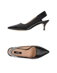 Zinda Footwear Courts Women Black