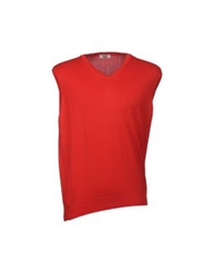 Valdoglio Sweater Vests Red