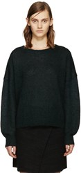 Etoile Isabel Marant Green Clifton Rainbow Sweater