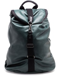 Browns Waxed Backpack Green