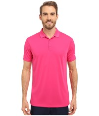 Nike Victory Solid Polo Vivid Pink White Men's Short Sleeve Pullover