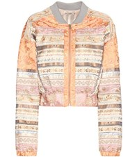 Etro Silk Bomber Jacket Multicoloured