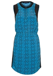 April May Muffin Summer Dress Turquoise