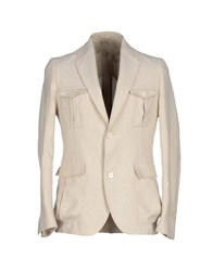 Maestrami Suits And Jackets Blazers Men Light Grey
