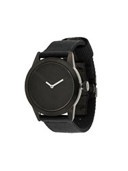 Triwa 'Stampd' Watch Black