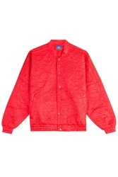 Adidas Originals Embossed Jacket Red