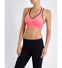 Falke Shape Melange Stretch Knit Sports Bra Rose
