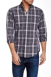 J.Crew Factory Regular Fit Washed Medium Plaid Shirt Multi
