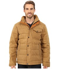 Timberland Mount Davis Down Jacket Metal Bronze Men's Coat Tan