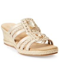 Easy Street Shoes Easy Street Bazinga Wedge Sandals Women's Shoes