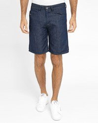 Diesel Blue Raw Bustshort Shorts