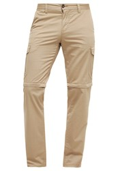 Camel Active Cargo Trousers Light Beige