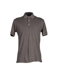 Andrea Fenzi Topwear Polo Shirts Men Grey
