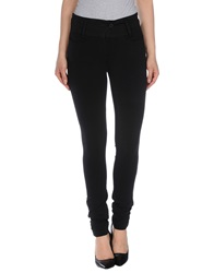 European Culture Casual Pants Black