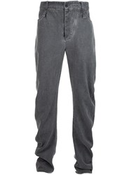 Lost And Found Ria Dunn Loose Fit Trousers Grey