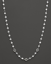 Ippolita Rock Candy Sterling Silver Short Multi Stone And Hammered Bead Necklace 15