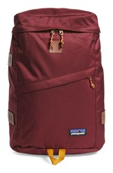 Men's Patagonia 'Toromiro' Backpack Red 22 Liter Oxblood Red