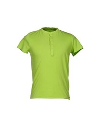 40Weft T Shirts Acid Green