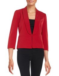 Nipon Boutique Shawl Collar Jacket Fire Red