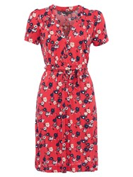 French Connection Meadow Jersey Flared Midi Dress Sahara