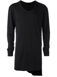 Army Of Me Scoop Neck T Shirt Black