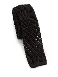 Ralph Lauren Purple Label Knit Tie Black
