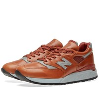 New Balance X Horween Leather Co. M998besp Made In The Usa Brown
