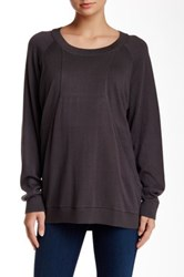 Planet The Baseball Sweater Gray